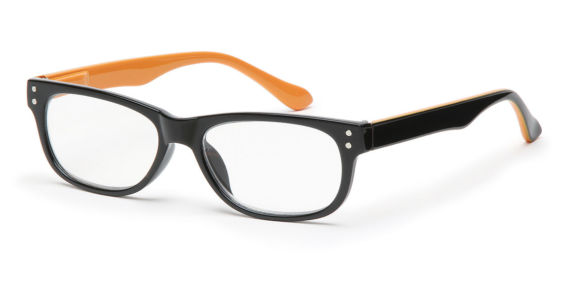 Reading glasses San Francisco orange