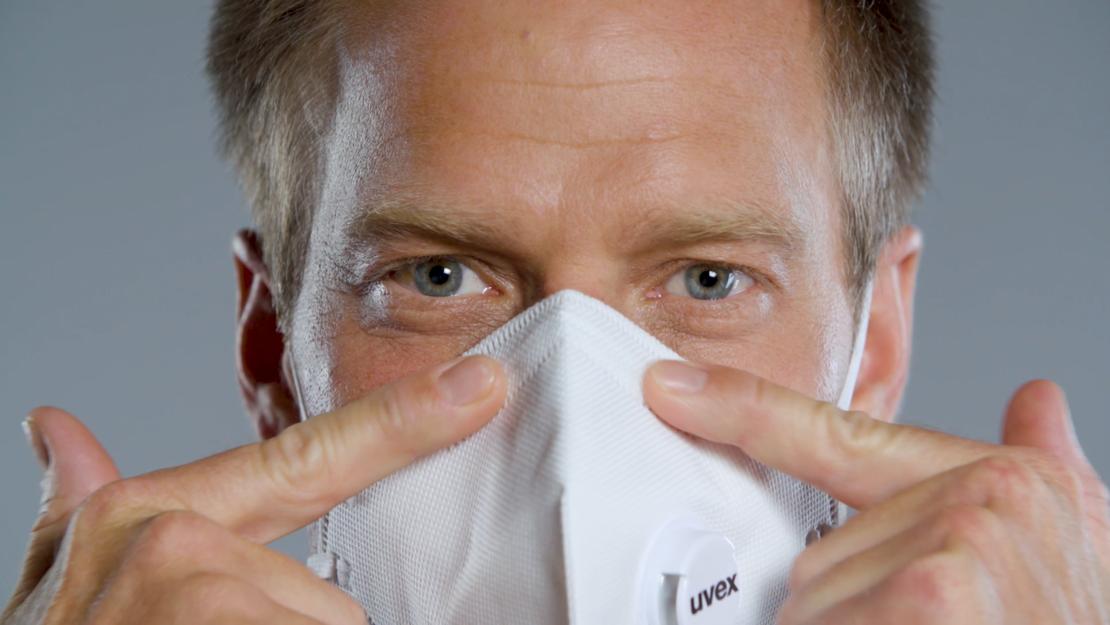 Atemschutzmaske richtig anlegen Video