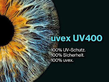 uvex UV-Schutz bei Schutzbrillen