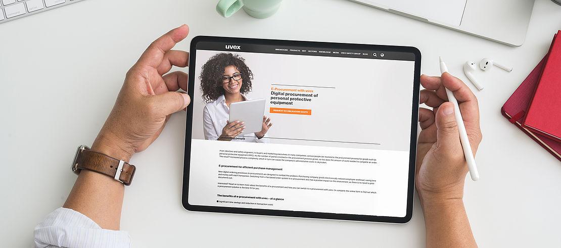 request-form-e-procurement-uvex