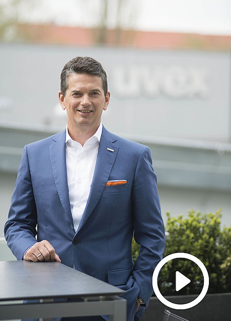 Michael Winter Geschäftsführender Gesellschafter uvex group on sustainability
