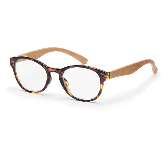 Main view reading glasses Amsterdam brown