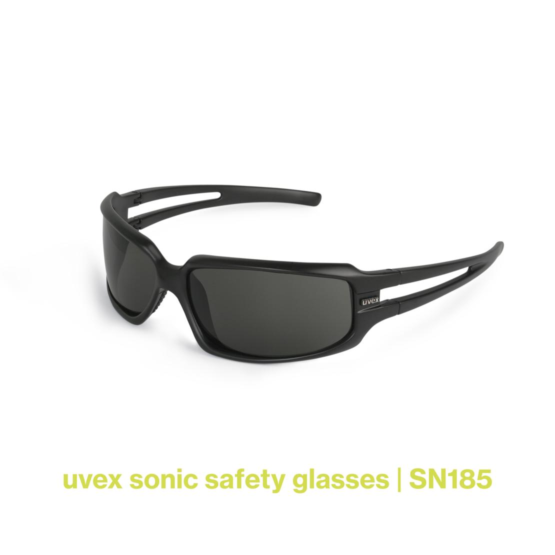 uvex sonic safety glasses