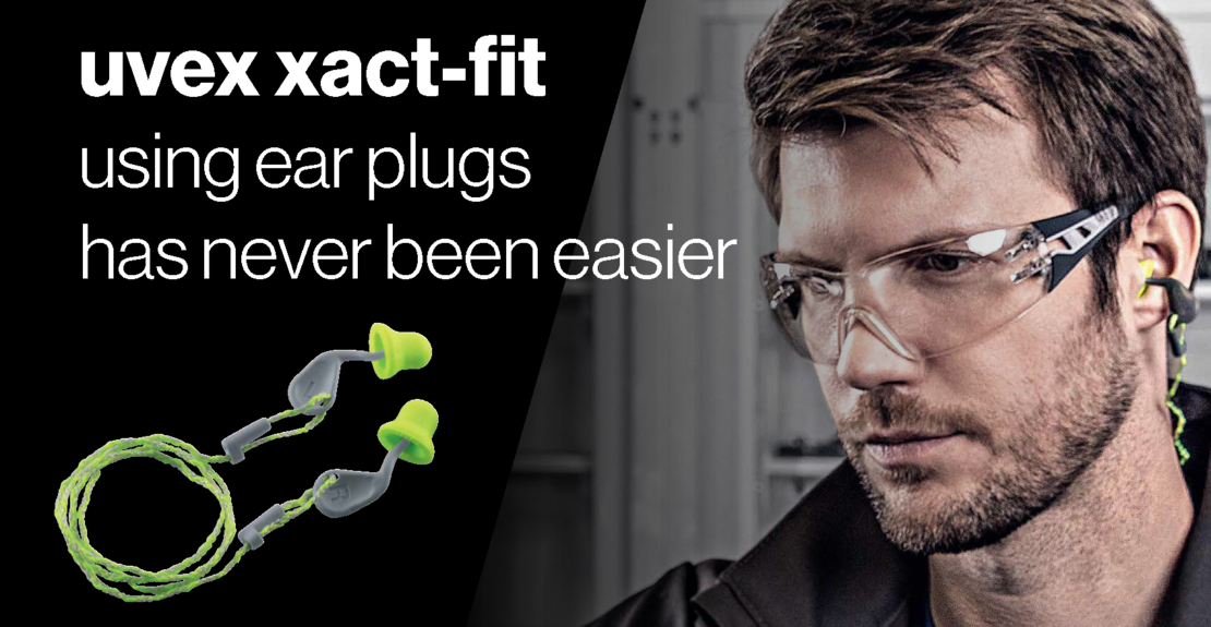 uvex xact-fit ear plugs