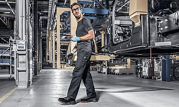 Occupational safety bodywork metalworking automotive industry