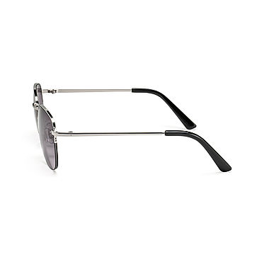 Side view sunglasses silver