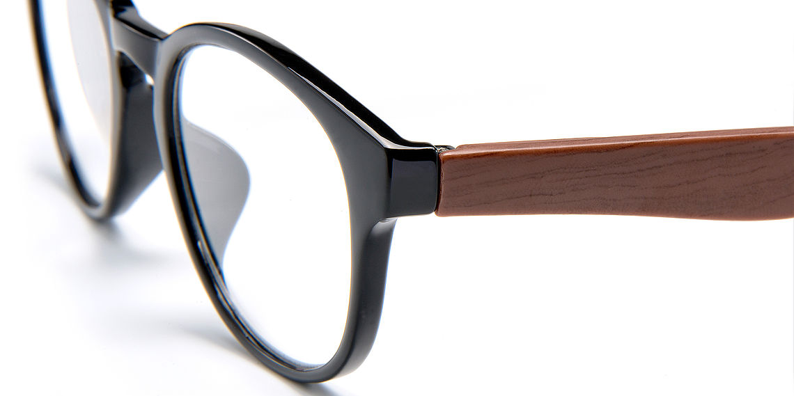 Reading glasses Amsterdam black/brown