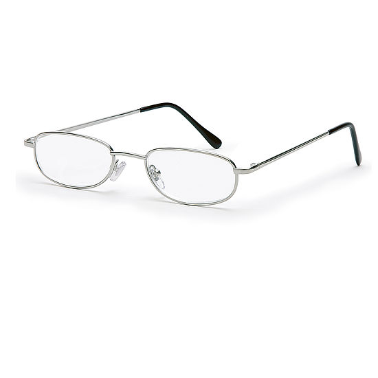 Main view reading glasses London silver