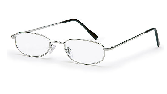 reading glasses style London for triangular faces