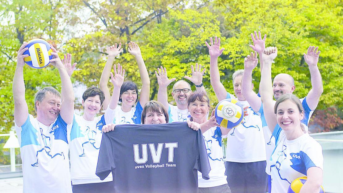 Volleyball Team der uvex group