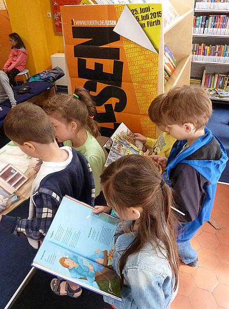 Die Rainer Winter Stiftung unterstützt seit 2009 das Kinderbuchhaus in Fürth.