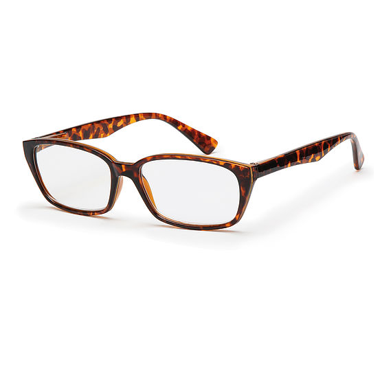 Main view reading glasses Havanna brown