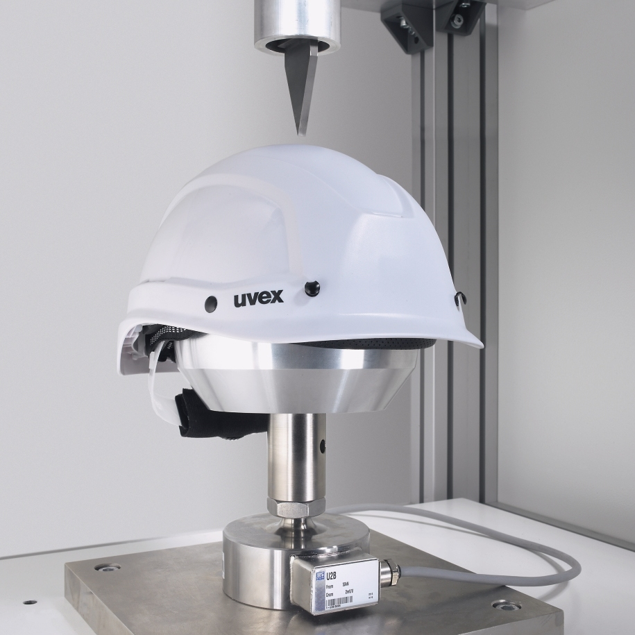 uvex safety helmet testing