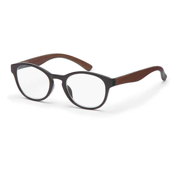 Main view reading glasses Amsterdam black/brown