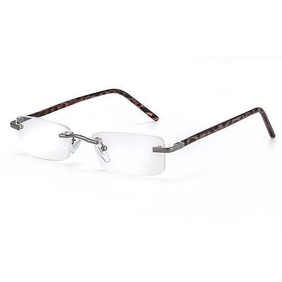 Main view reading glasses Monaco dark brown