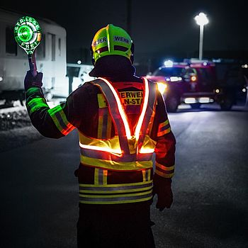 stay visible, stay safe with self-illuminating protective equipment