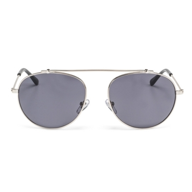 round sunglasses, no bridge