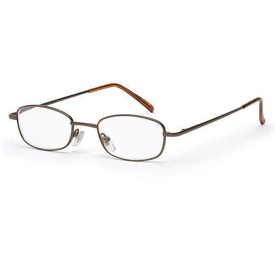 Main view reading glasses New York copper