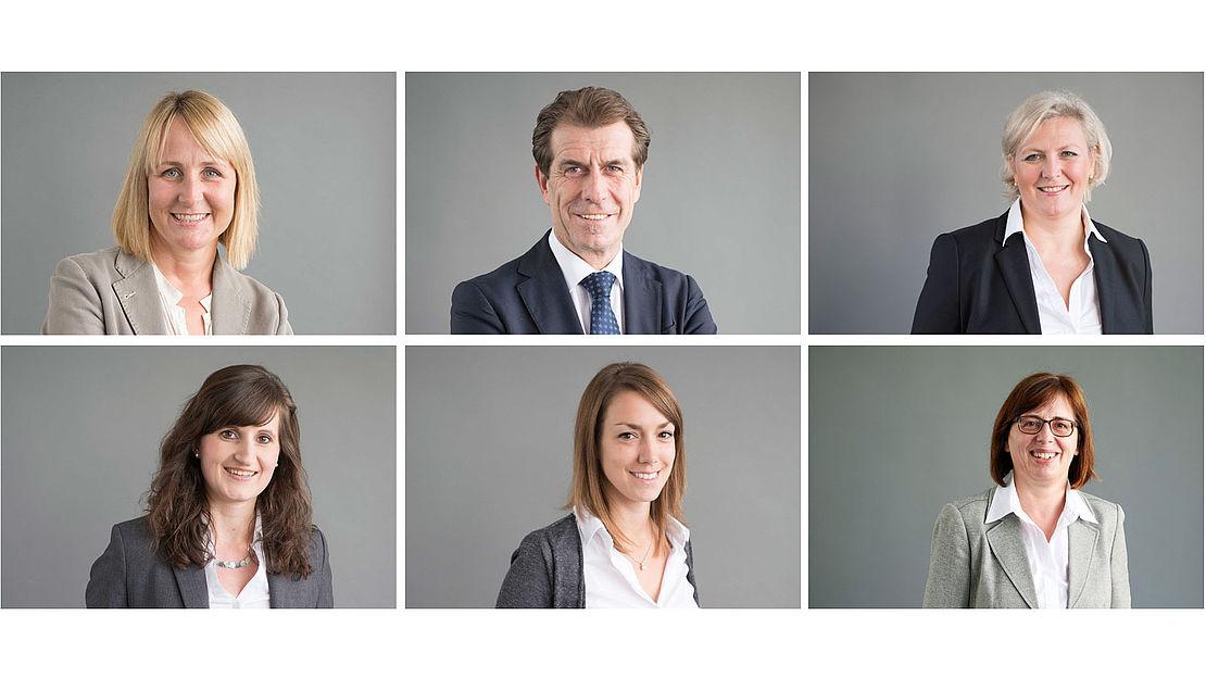 Kontaktpersonen in der uvex Personalabteilung