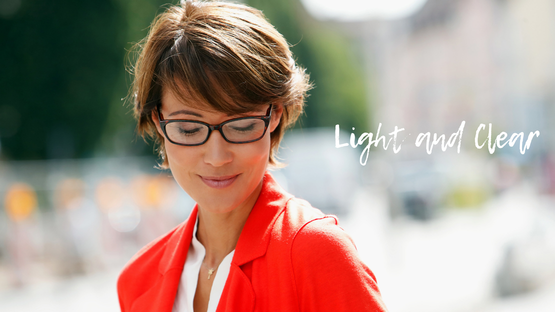intro image reading glasses lookbook light and clear