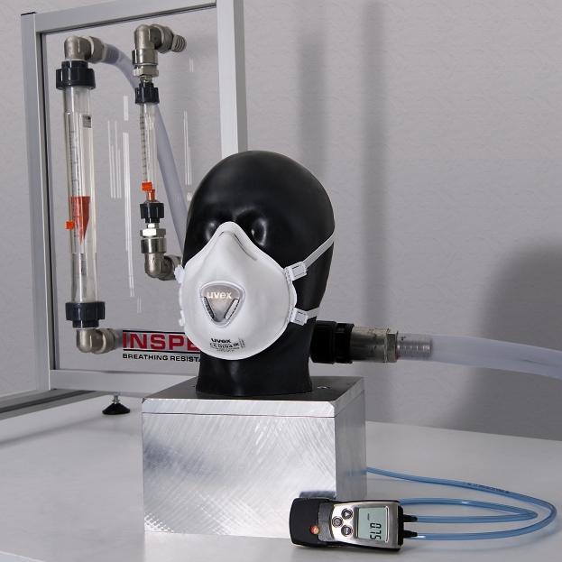 uvex respiratory mask testing