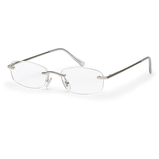 Rimless reading glasses style Hamburg for square faces