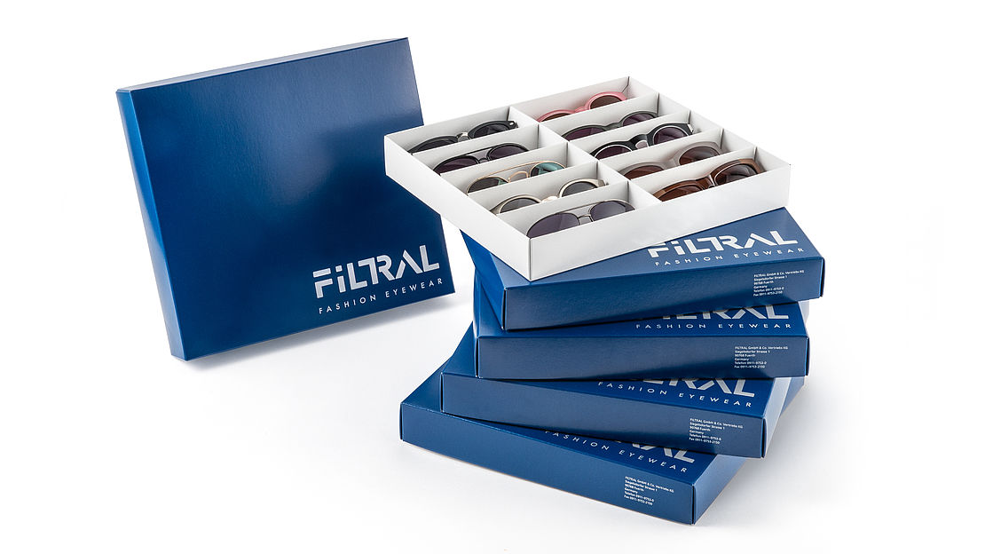 Sunglasses in a box, Filtral trading partner