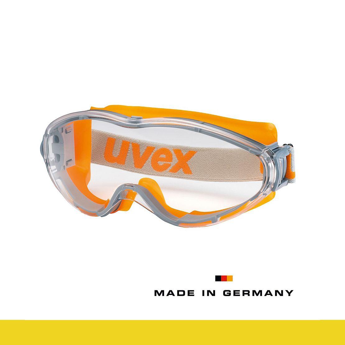 chemikalienbeständige Vollsichtbrille