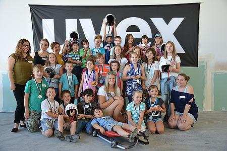 Kinderferienbetreuung in der uvex group