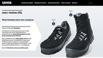 Custom Orthopedic Shoes Effective Foot Protection Uvex