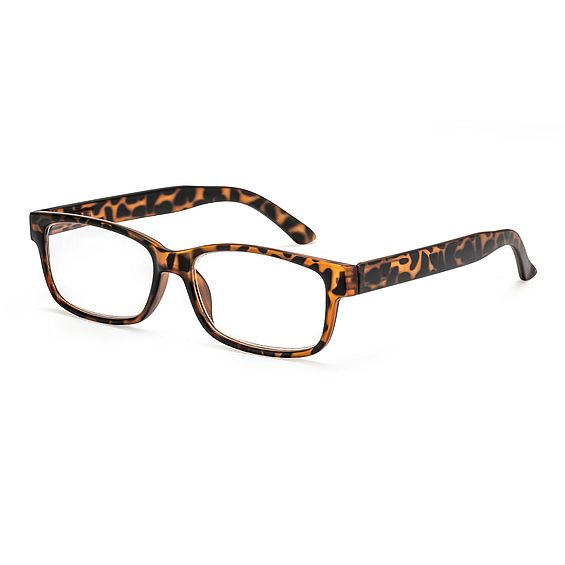 Main view reading glasses Oslo brown havana