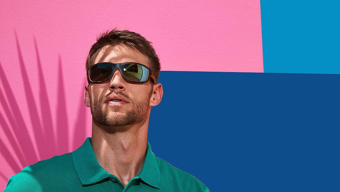 Mann mit Sportbrille Modell 3020309