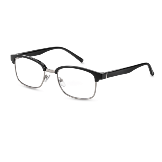 browline reading glasses style Palermo for round faces