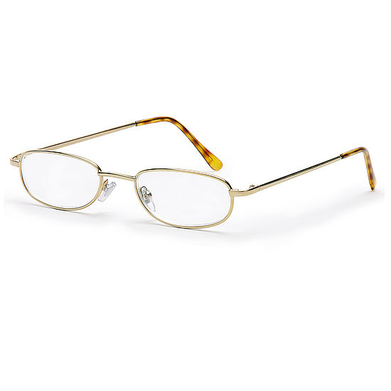 Main view reading glasses London gold