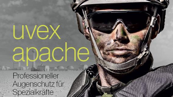 Download Broschüre: uvex apache für Spezialkräfte