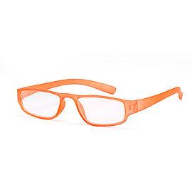 Hauptansicht Lesebrille orange