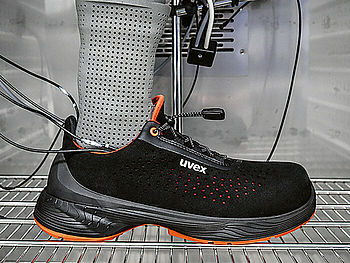 Foot protection technologies from uvex
