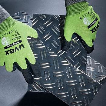 uvex c5 and d500 cut-protection safety gloves
