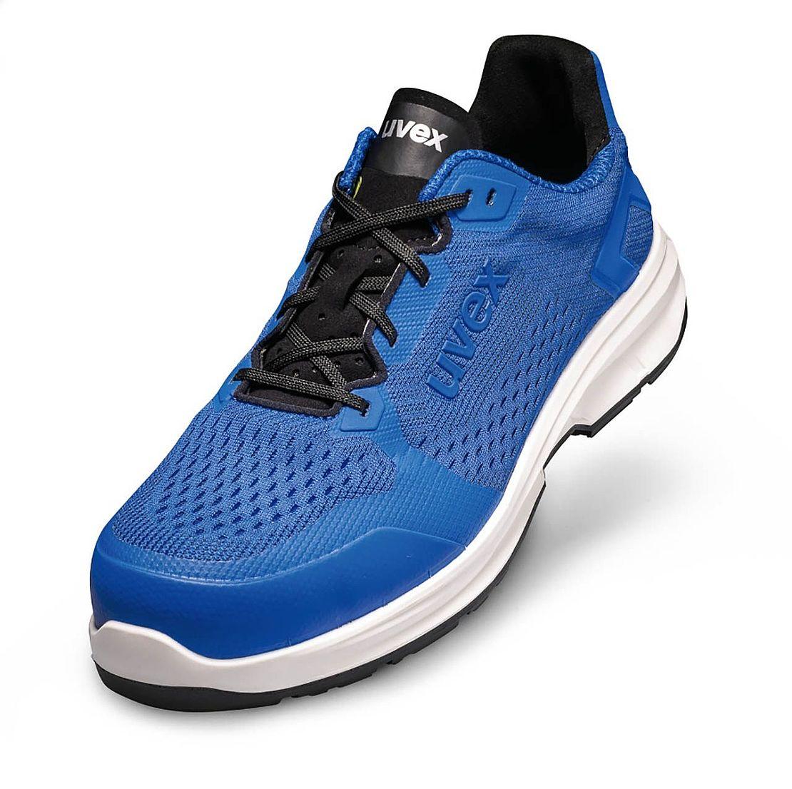 Sicherheitsschuhe blau Sneaker Look - uvex 1 sport