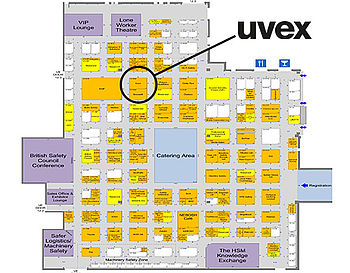Find uvex at stand 12-K62 at the Health & Safety Event
