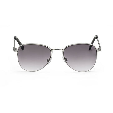 Front view sunglasses silver