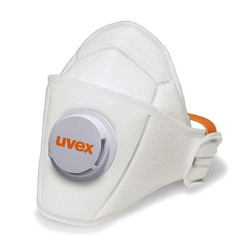 breath easily even in warm environments with uvex respiratory masks