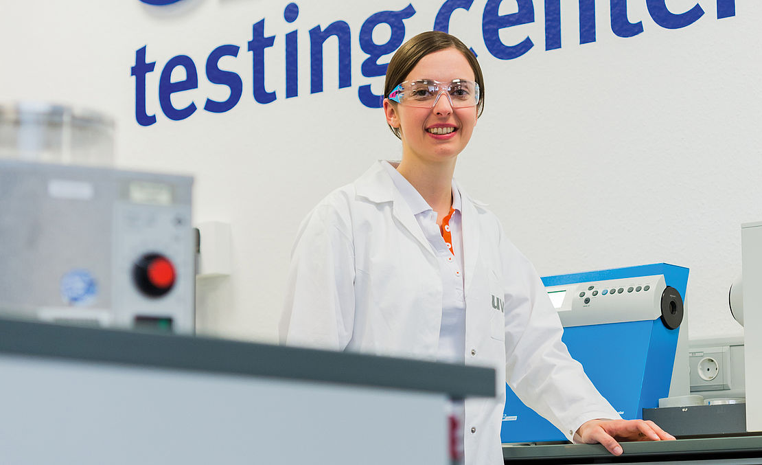 Quality, uvex testing center, glasses