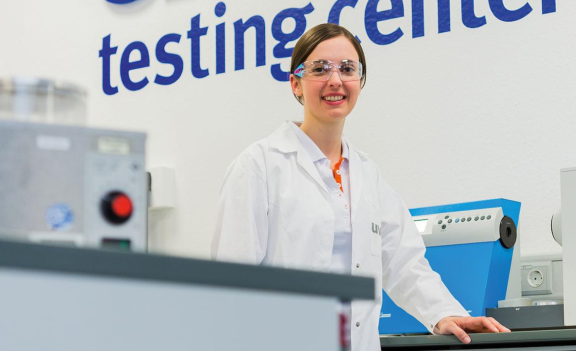 Qualität, uvex Testing Center, Brillengläser