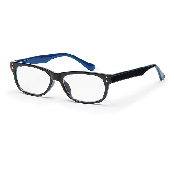 Main view reading glasses San Francisco blue