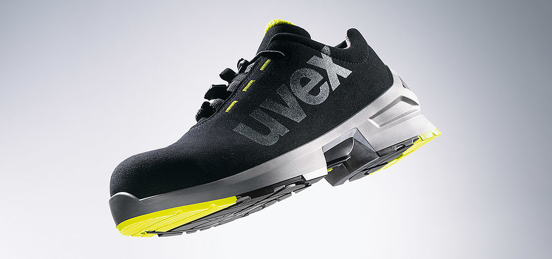 Innovative uvex 1 safety footwear