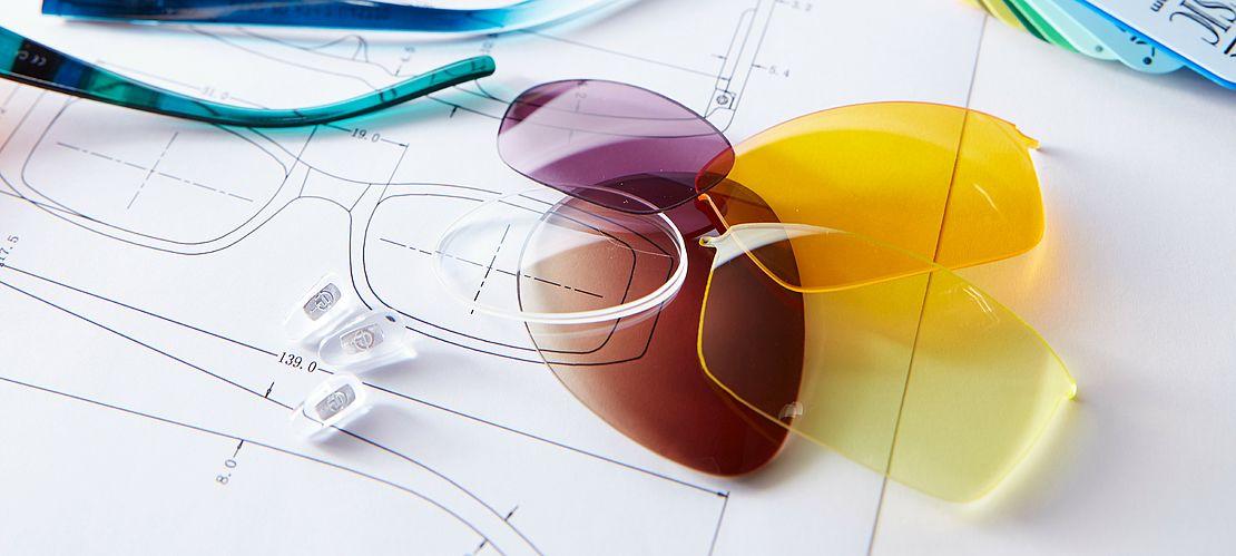 Technologie, Scheibenmaterial, Gläser, Brille