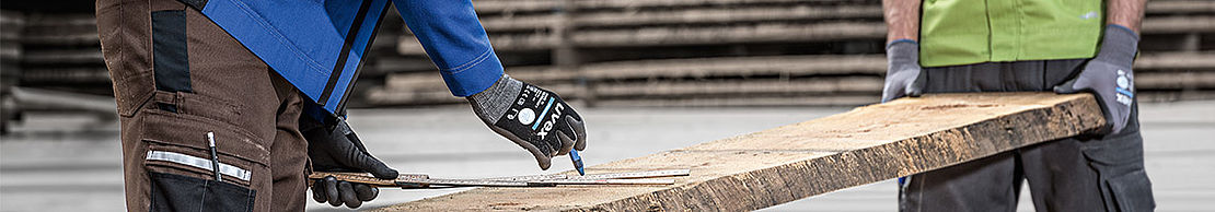 [Translate to Deutsch:] uvex gloves are suitable for working in hot working