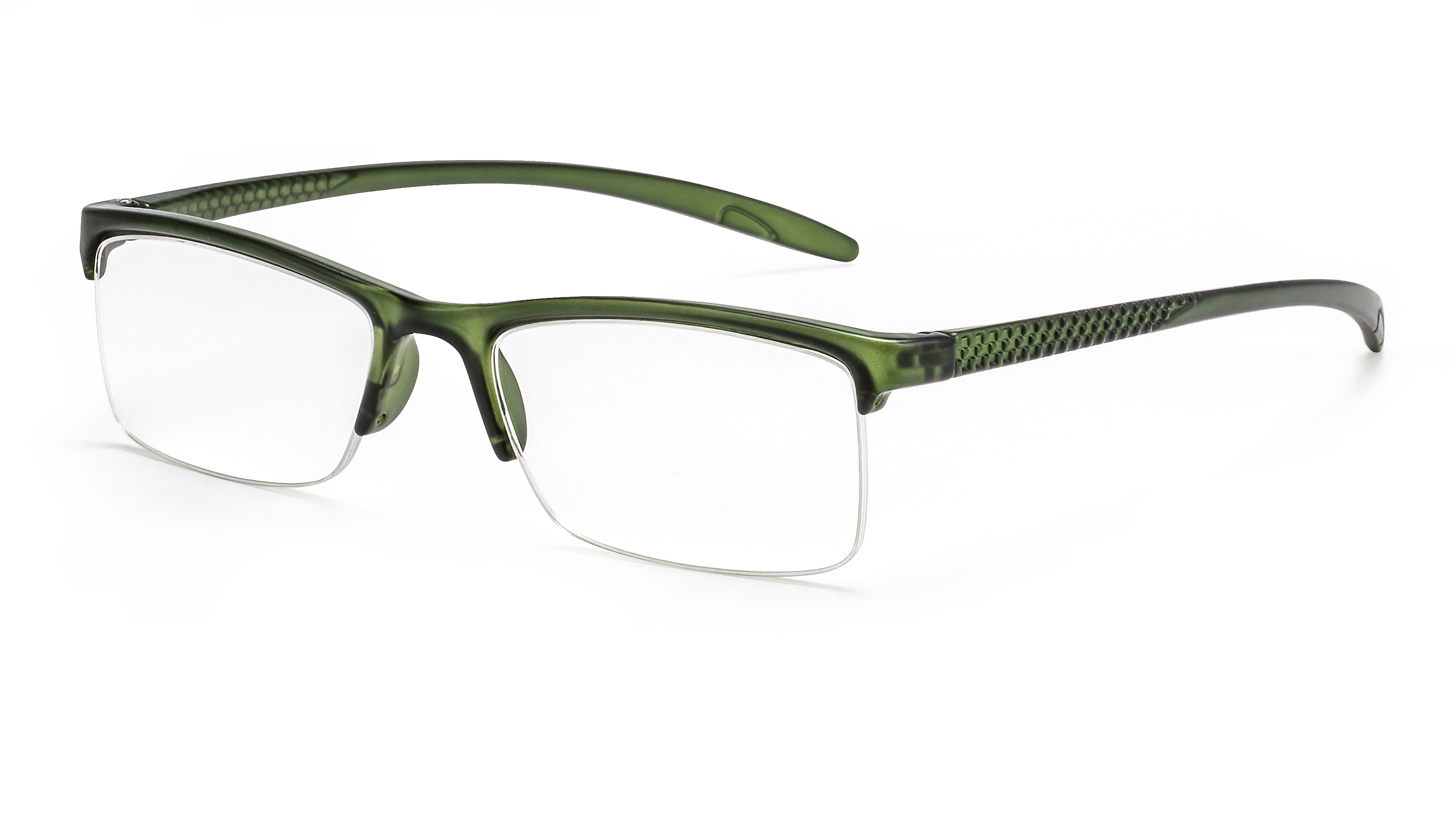 Main view reading glasses Miami green