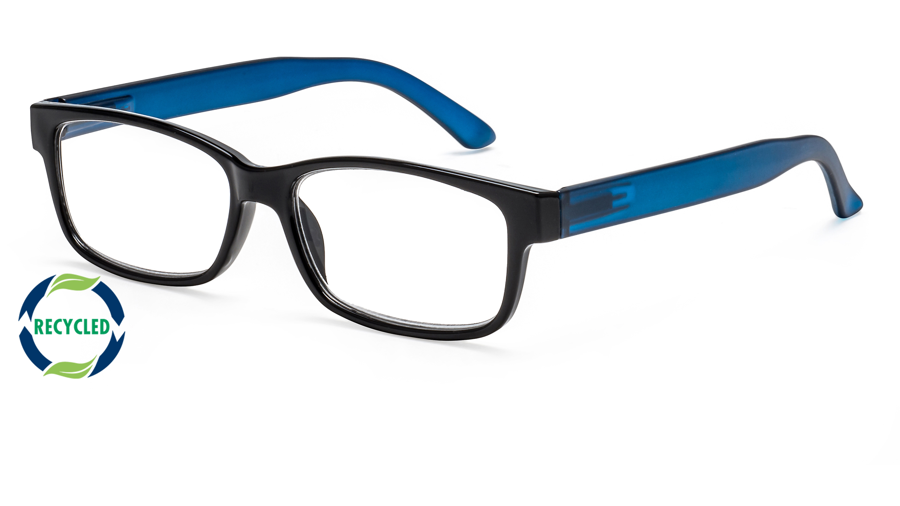 Filtral recycling reading glasses oslo blue